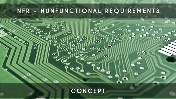 nfr nunfunctionnal requirements