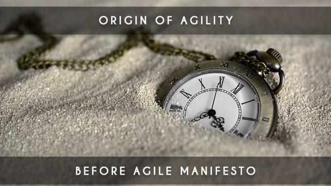origin of agility