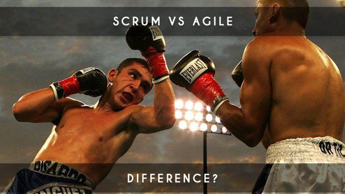 scrum vs agile