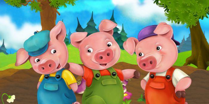 3 litlle pigs