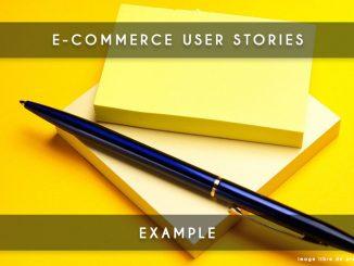 ecommerce user story