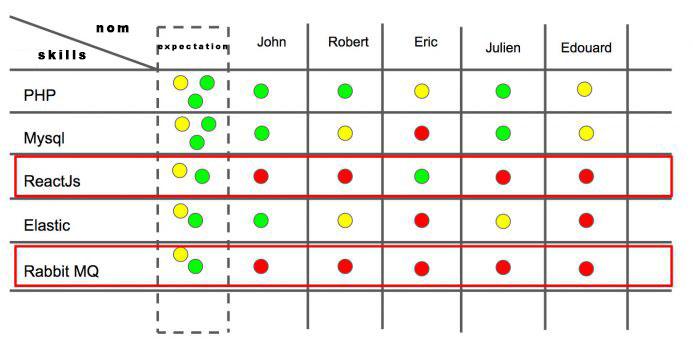 team competency matrix