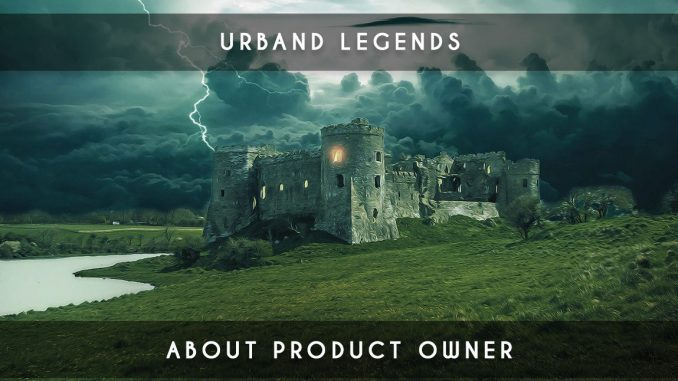 urban legend about product owner