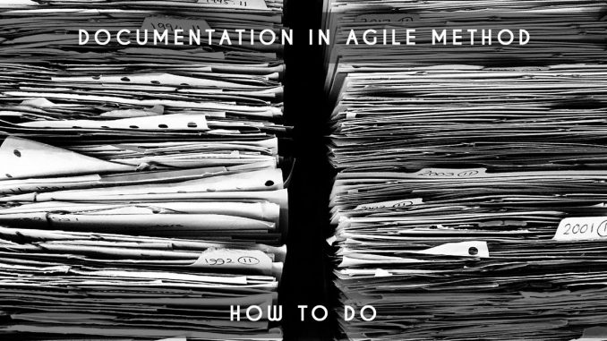documentation in agile