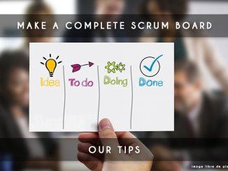 make scrum board