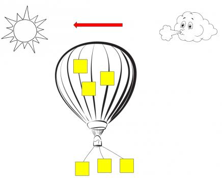 retrospective - Hot-air balloon