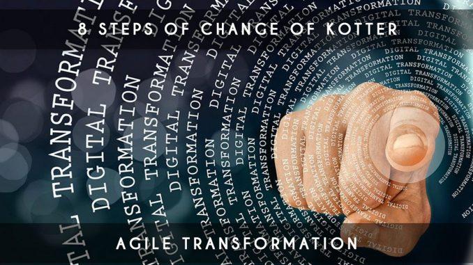 8 steps of change of kotter