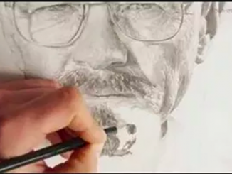 collaborative face drawing