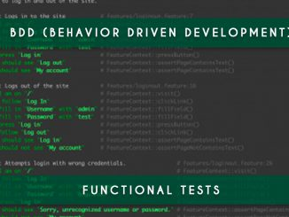 bdd (behavior driven development)