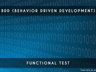 bdd - behavior driven development