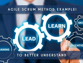 agile scrum method example