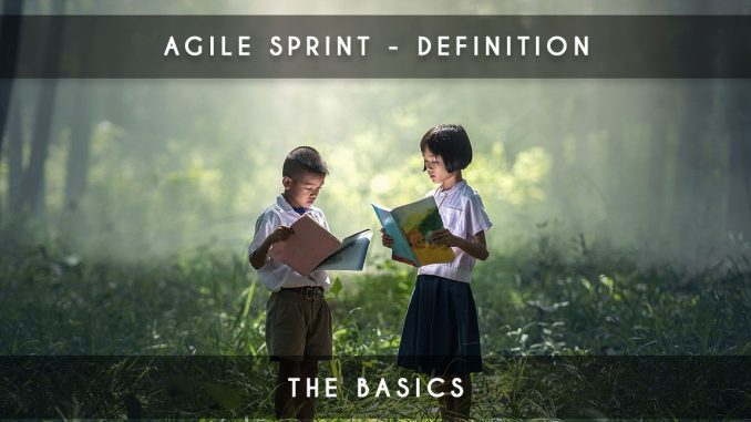 agile sprint definition