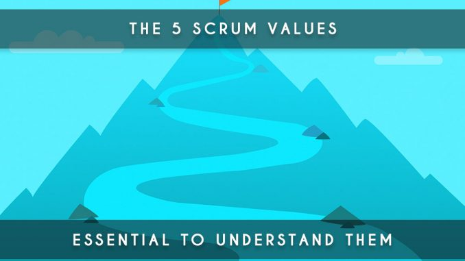 5 scrum values
