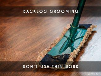 backlog grooming