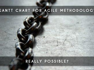 gantt chart agile