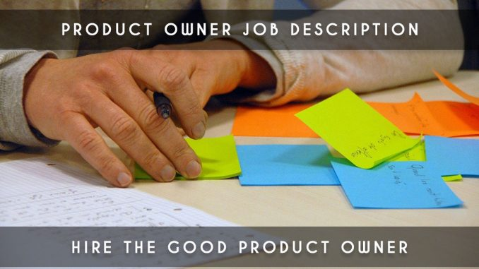 product owner job description