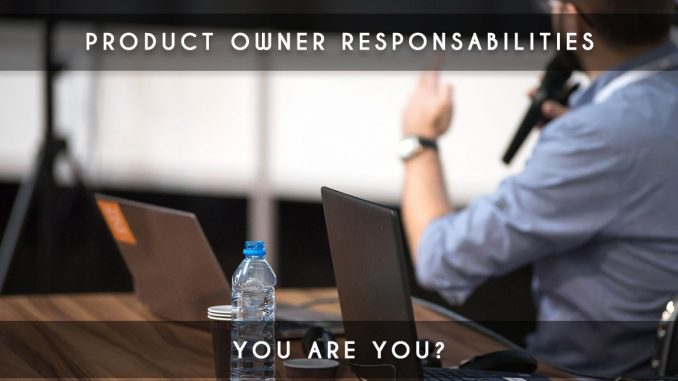 product owner responsabilities