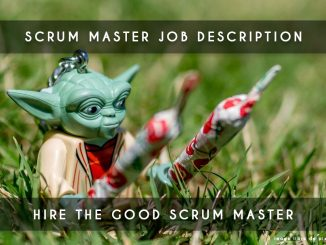 scrum master job description