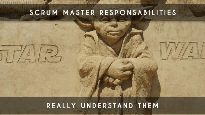scrum master responsabilities