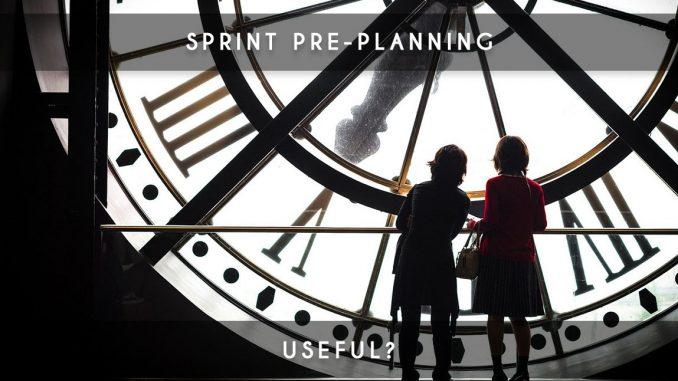 sprint pre planning