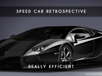 speed car retrospective