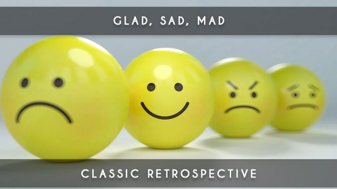 glad, sad, mad - retrospective